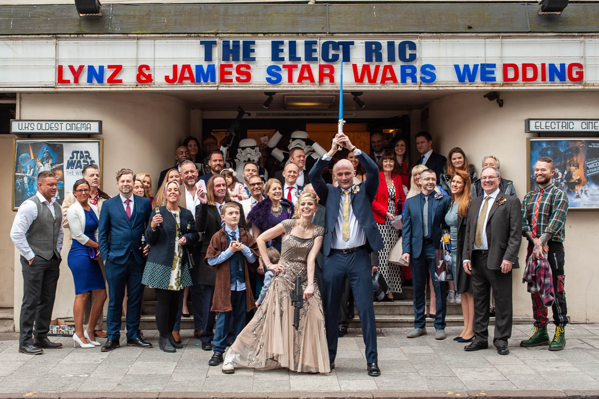 A Star Wars Wedding | Linz and James