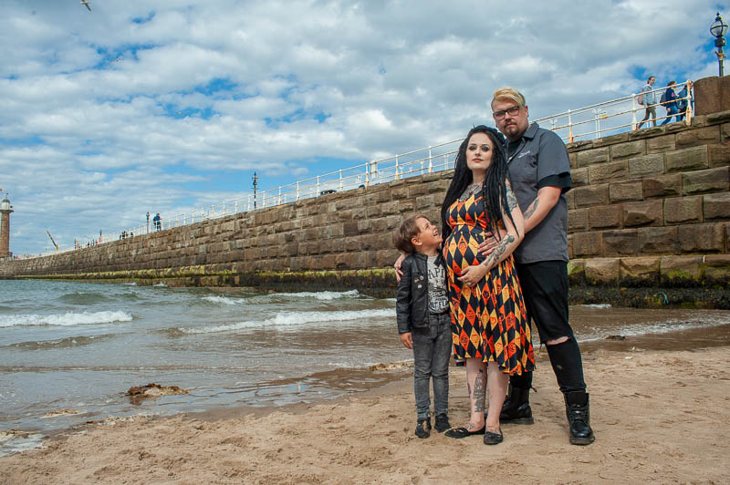 Family Shoot. Whitby, North Yorkshire